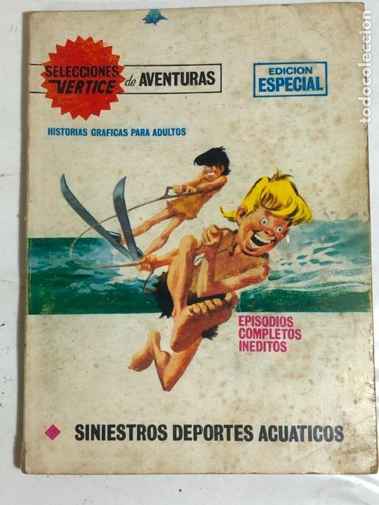 SELECCIONES VERTICE Nº83 - SINIESTROS DEPORTES ACUATICOS (Tebeos y Comics - Vértice - V.1)