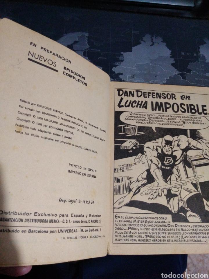 Cómics: Dan defensor Dare devil lucha imposible Marvel Cómics group - Foto 3 - 178178567