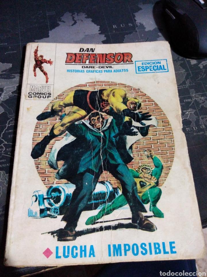 DAN DEFENSOR DARE DEVIL LUCHA IMPOSIBLE MARVEL CÓMICS GROUP (Tebeos y Comics - Vértice - Dan Defensor)