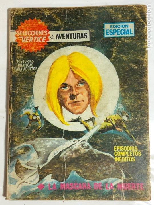 SELECCIONES VERTICE Nº82 - LA MASCARA DE LA MUERTE (Tebeos y Comics - Vértice - V.1)