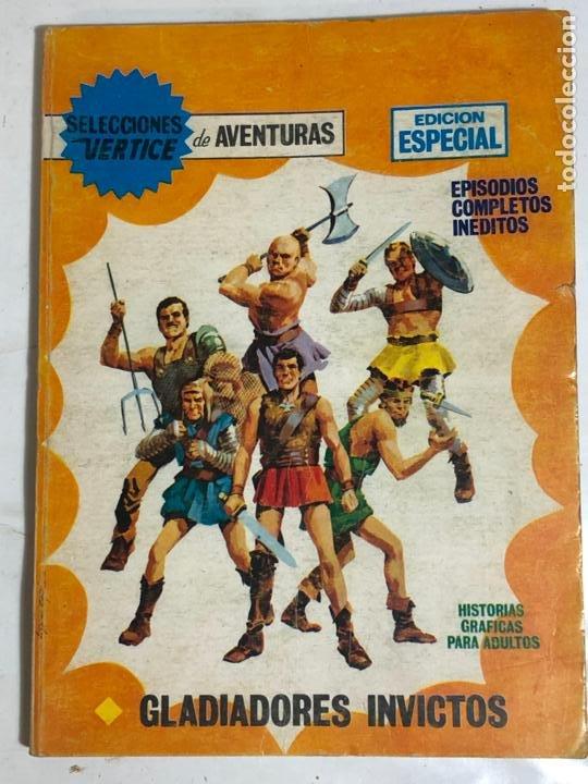 SELECCIONES VERTICE Nº59 - GLADIADORES INVICTOS (Tebeos y Comics - Vértice - V.1)