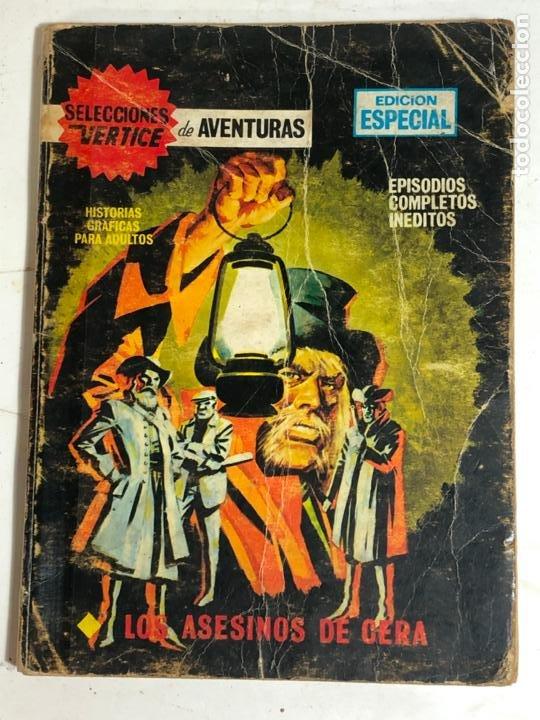 SELECCIONES VERTICE Nº57 - LOS ASESINOS DE CERA (Tebeos y Comics - Vértice - V.1)