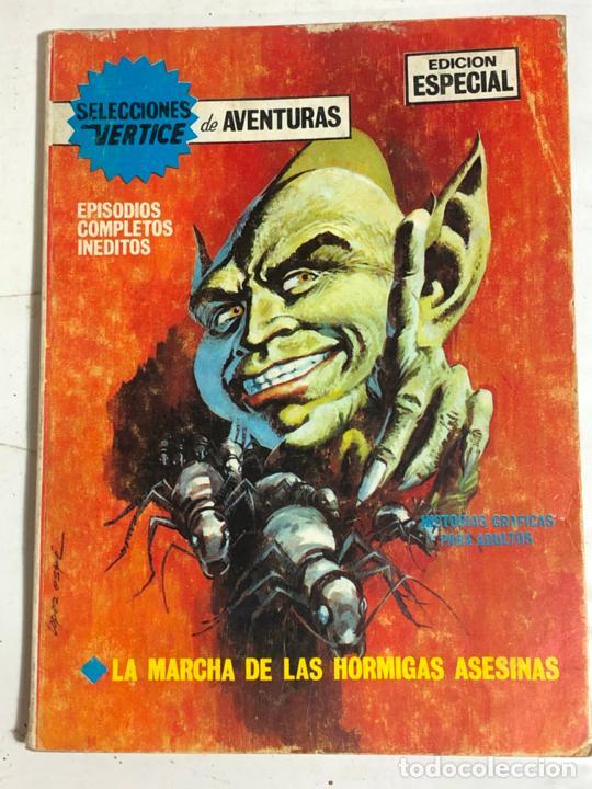SELECCIONES VERTICE Nº38 - LA MARCHA DE LAS HORMIGAS ASESINAS (Tebeos y Comics - Vértice - V.1)