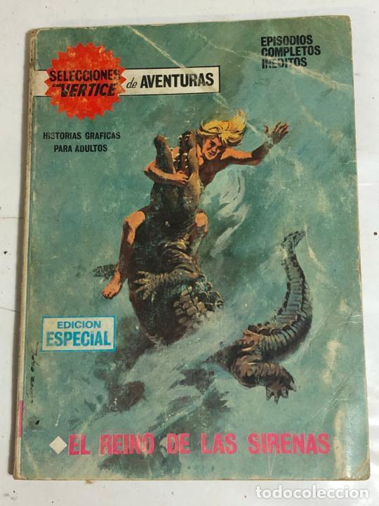 SELECCIONES VERTICE Nº32 - EL REINO DE LAS SIRENAS (Tebeos y Comics - Vértice - V.1)