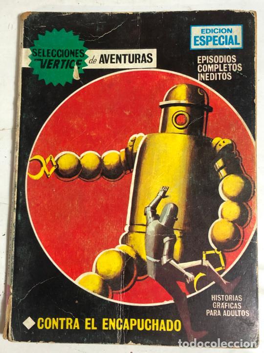 SELECCIONES VERTICE Nº31 - CONTRA EL ENCAPUCHADO (Tebeos y Comics - Vértice - V.1)