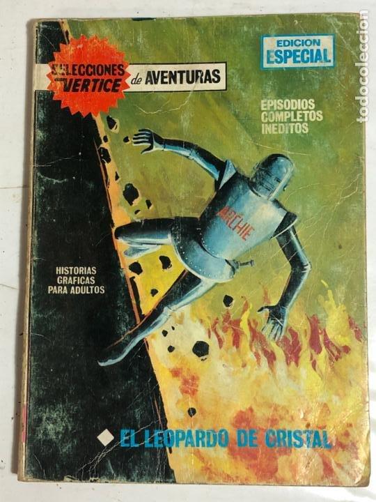 SELECCIONES VERTICE Nº27 - EL LEOPARDO DE CRISTAL (Tebeos y Comics - Vértice - V.1)