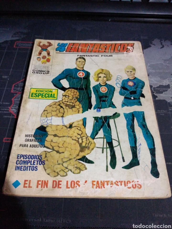 LOS 4 FANTÁSTICOS EL FIN DE LOS 4 FANTÁSTICOS (Tebeos y Comics - Vértice - 4 Fantásticos)