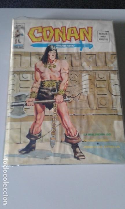 TOMO CONAN ENCUADERNADO VOLUMEN 2 VERTICE. NUMEROS 2,3,4,5,6,7,8,9,10 Y 19 (Tebeos y Comics - Vértice - V.2)