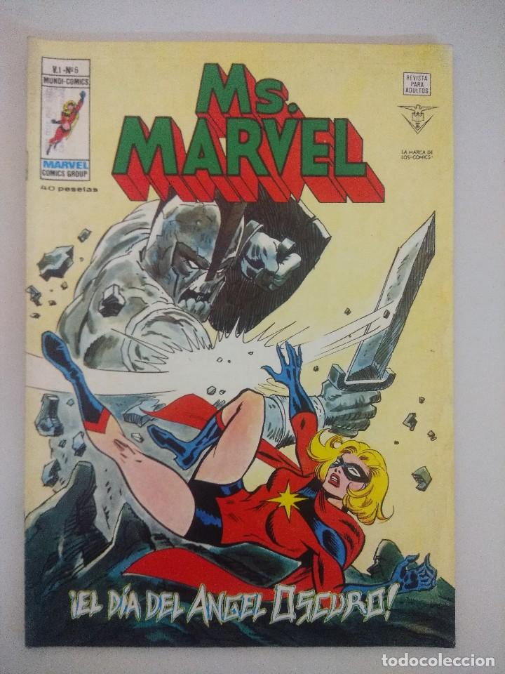 MS.MARVEL V1-Nº6 VERTICE. (Tebeos y Comics - Vértice - Otros)