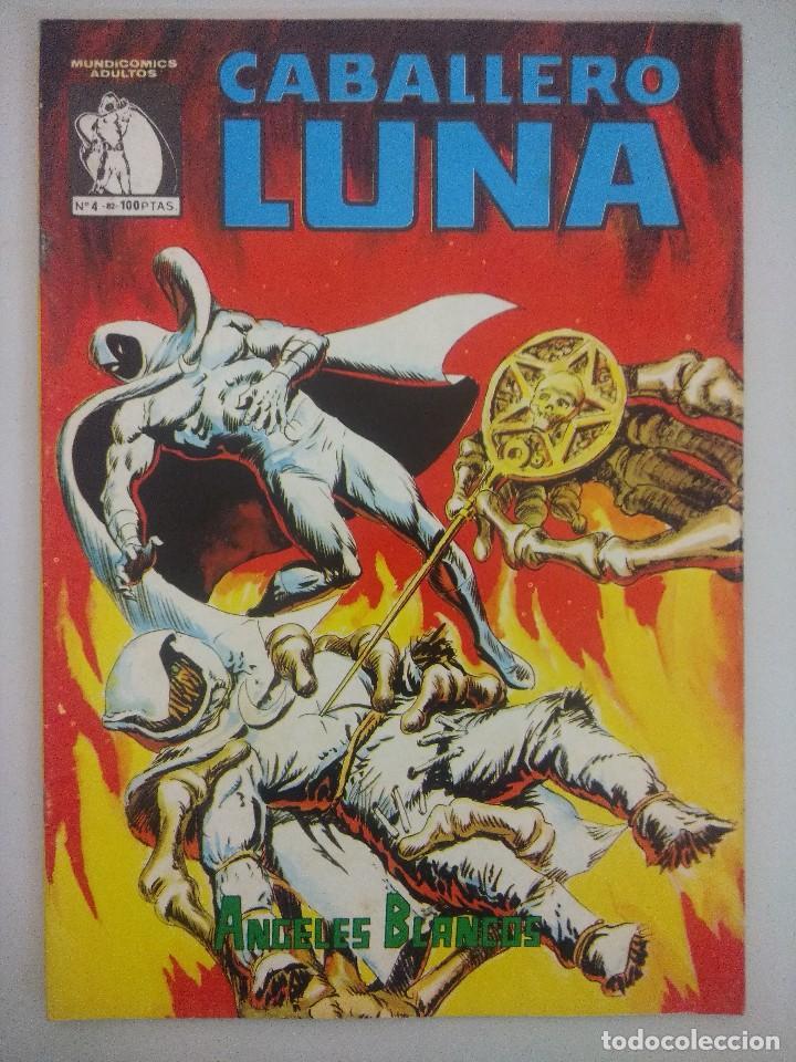 CABALLERO LUNA Nº4 MUNDICOMICS- VERTICE. (Tebeos y Comics - Vértice - Otros)