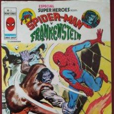 Cómics: SPIDER MAN Y FRANKENSTEIN Nº11 MARVEL 1976. Lote 222819906