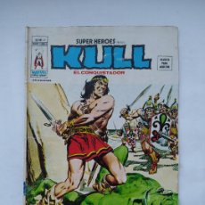 Cómics: SUPER HEROES Nº 21 PRESENTA KULL EL CONQUISTADOR. VOL. 2 VERTICE, 1975. V.2. MUNDI COMICS. TDKC83. Lote 222865601