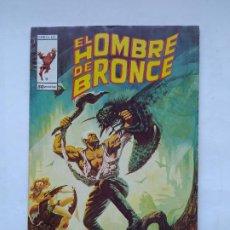 Cómics: EL HOMBRE DE BRONCE Nº 9. LAS MUTACIONES MAYAS. COMICS ART VERTICE. TDKC84. Lote 222870353