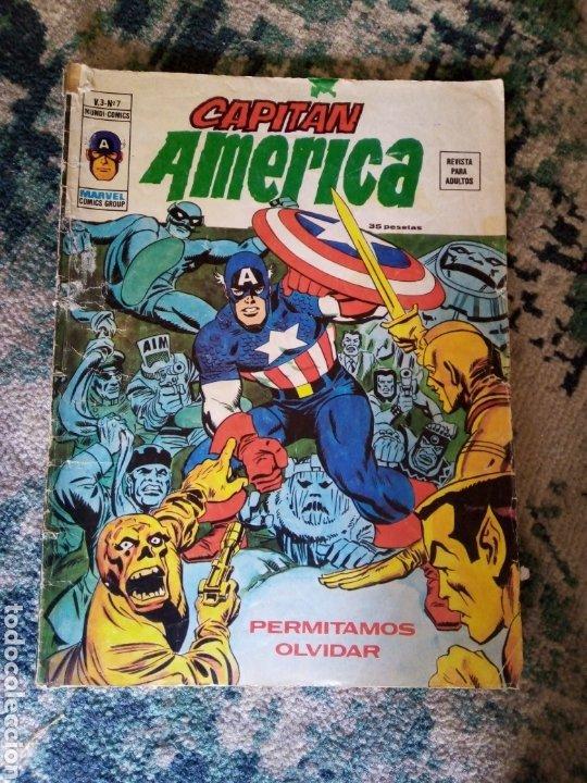 EL CAPITÁN AMÉRICA VOL 3 NÚM 7. VÉRTICE (Tebeos y Comics - Vértice - Capitán América)