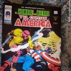 Cómics: LOS INSUPERABLES NÚM 16. EL HOMBRE DE HIERRO Y EL CAPITÁN AMÉRICA. VÉRTICE. Lote 222988442