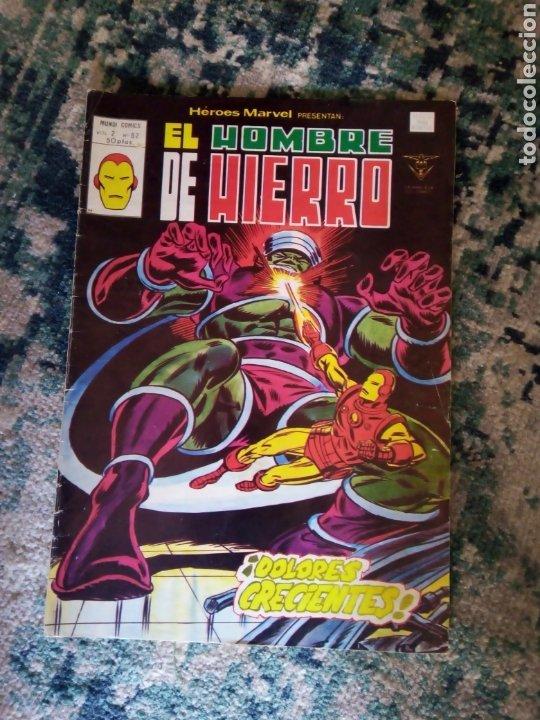 HÉROES MARVEL VOL 3 NÚM 62. EL HOMBRE DE HIERRO. VÉRTICE (Tebeos y Comics - Vértice - Hombre de Hierro)