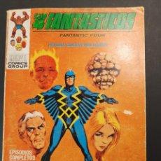 Cómics: 4 FANTASTICOS, LOS (1969, VERTICE) -V.1- 29 · VIII-1971 · MUERTE TRIUNFA. Lote 223128375