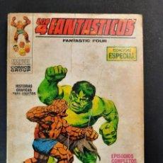 Cómics: 4 FANTASTICOS, LOS (1969, VERTICE) -V.1- 13 · IV-1970 · LA MASA CONTRA LA COSA. Lote 223131110