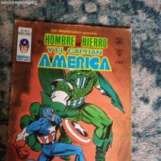 Cómics: LOS INSUPERABLES NÚM 12. EL HOMBRE DE HIERRO Y EL CAPITÁN AMÉRICA. VÉRTICE. Lote 223202056
