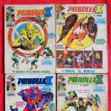 Cómics: PATRULLA X , Nº 12 , 15 , 18 , 25 (DEFECTUOSOS, VER DESCRIPCIÓN) - MARVEL~ED. VERTICE - PJRB. Lote 223525505