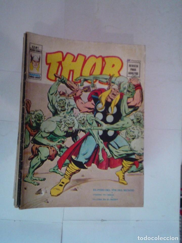 THOR - VERTICE - VOLUMEN 2 - COLECCION COMPLETA - 53 NUMEROS - BUEN ESTADO - GORBAUD (Tebeos y Comics - Vértice - Thor)