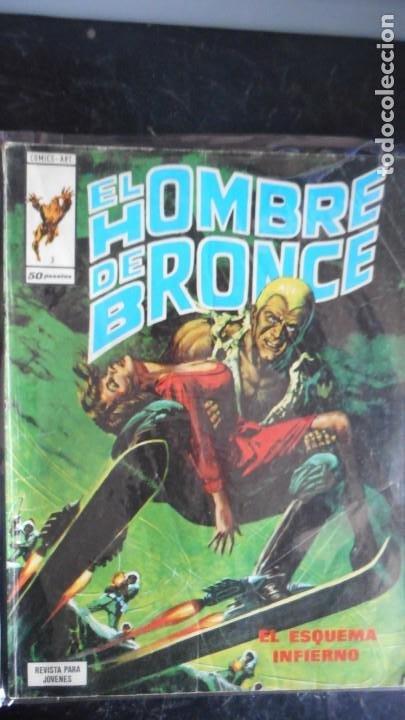 DOC SAVAGE . EL HOMBRE DE BRONCE Nº 3 (Tebeos y Comics - Vértice - Otros)