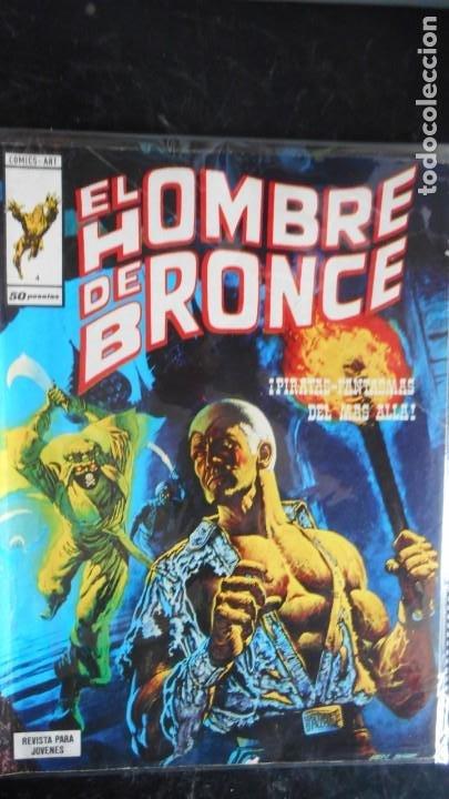 DOC SAVAGE . EL HOMBRE DE BRONCE Nº 4 (Tebeos y Comics - Vértice - Otros)