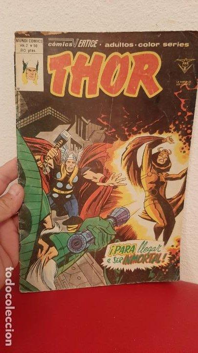 COMIC MUNDI COMICS VOLUMEN 2 THOR VERTICE 50 PARA LLEGAR A SER MORTAL (Tebeos y Comics - Vértice - Thor)