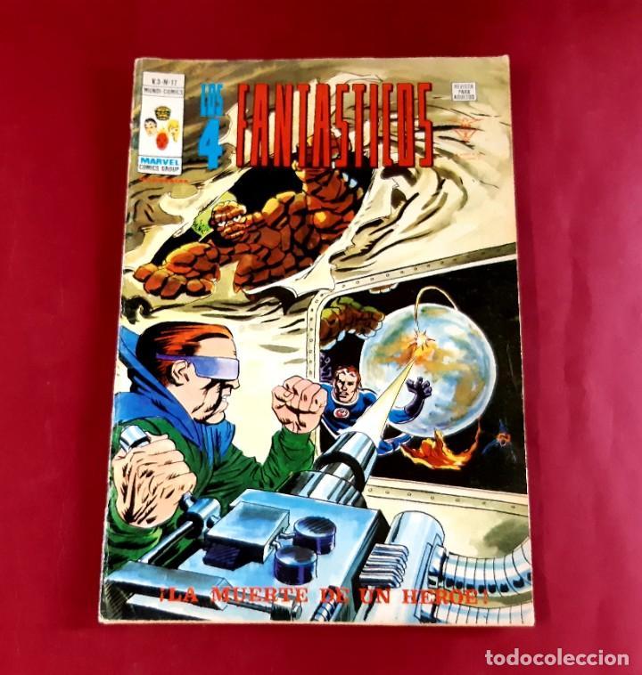LOS 4 FANTASTICOS Nº 17 VOLUMEN 3 EDITORIAL VERTICE-EXCELENTE ESTADO (Tebeos y Comics - Vértice - V.3)