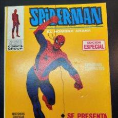 Fumetti: SPIDERMAN (1969, VERTICE) -V 1- 1 · 1-XII-1972 · SE PRESENTA SPIDERMAN. Lote 224396163
