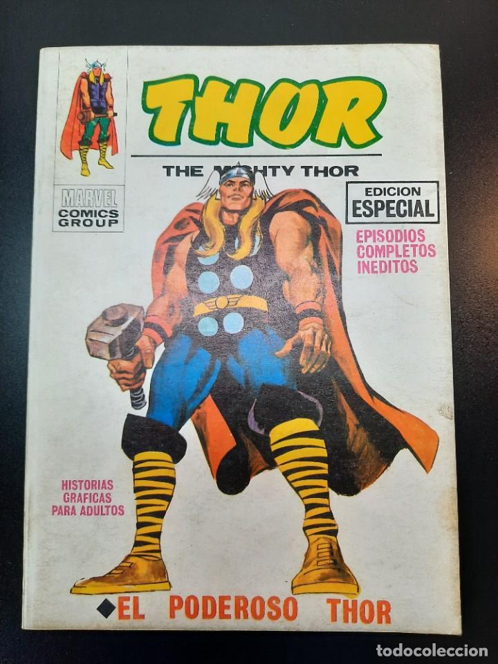 THOR (1970, VERTICE) 1 · 1970 · EL PODEROSO THOR (Tebeos y Comics - Vértice - Thor)