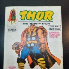 Cómics: THOR (1970, VERTICE) 1 · 1970 · EL PODEROSO THOR. Lote 224396720