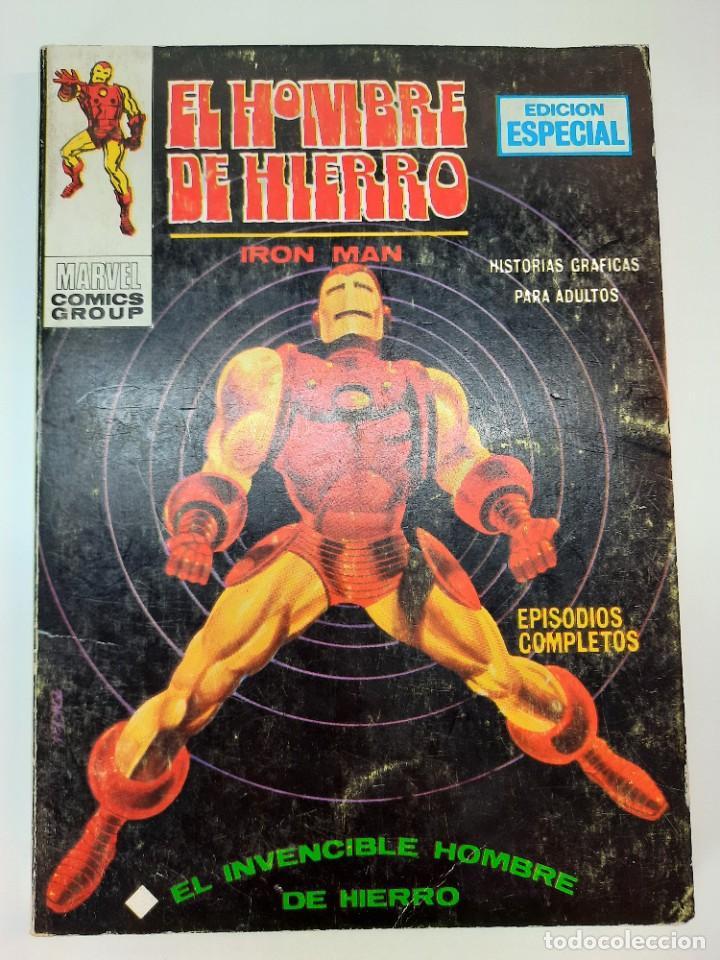 IRON MAN (1969, VERTICE) -EL HOMBRE DE HIERRO- 1 · VII-1969 · EL INCREIBLE HOMBRE DE HIERRO (Tebeos y Comics - Vértice - Hombre de Hierro)
