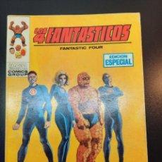 Cómics: 4 FANTASTICOS, LOS (1969, VERTICE) -V.1- 1 · IV-1969 · EN DEFENSA DE LA LEY. Lote 224398620