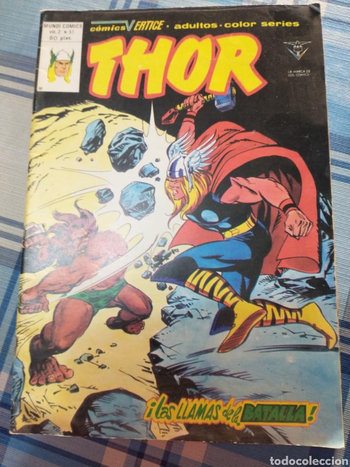 THOR (Tebeos y Comics - Vértice - Thor)