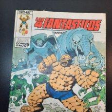 Cómics: 4 FANTASTICOS, LOS (1969, VERTICE) -V.1- 63 · 15-IV-1974 · ALLA DONDE NO BRILLA EL SOL. Lote 224495746