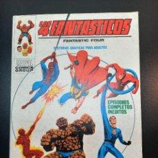 Cómics: 4 FANTASTICOS, LOS (1969, VERTICE) -V.1- 36 · III-1972 · LAS LLAMAS DE LA BATALLA. Lote 224500092
