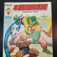 Cómics: 4 FANTASTICOS, LOS (1969, VERTICE) -V.1- 66 · 1-VI-1974 · LA BATALLA DEL SIGLO. Lote 224501655