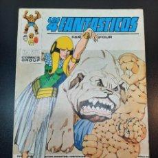 Cómics: 4 FANTASTICOS, LOS (1969, VERTICE) -V.1- 59 · II-1974 · UNIDOS...O MUERTOS. Lote 224505323