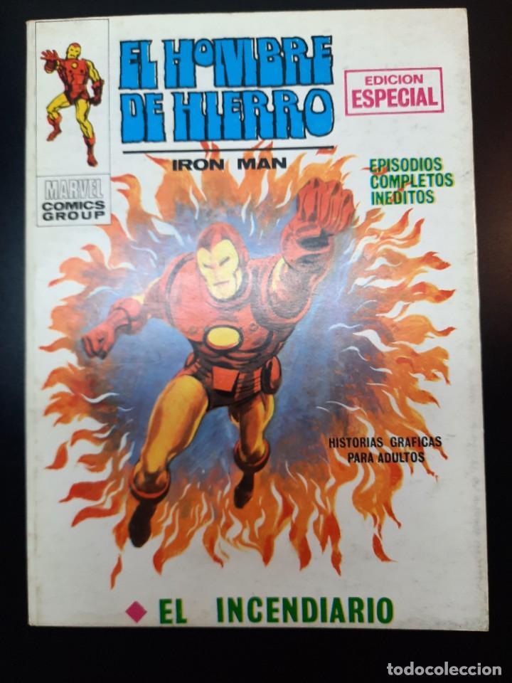 IRON MAN (1969, VERTICE) -EL HOMBRE DE HIERRO- 11 · V-1970 · EL INCENDIARIO *** EXCELENTE *** (Tebeos y Comics - Vértice - Hombre de Hierro)