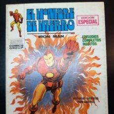Cómics: IRON MAN (1969, VERTICE) -EL HOMBRE DE HIERRO- 11 · V-1970 · EL INCENDIARIO *** EXCELENTE ***. Lote 224508073