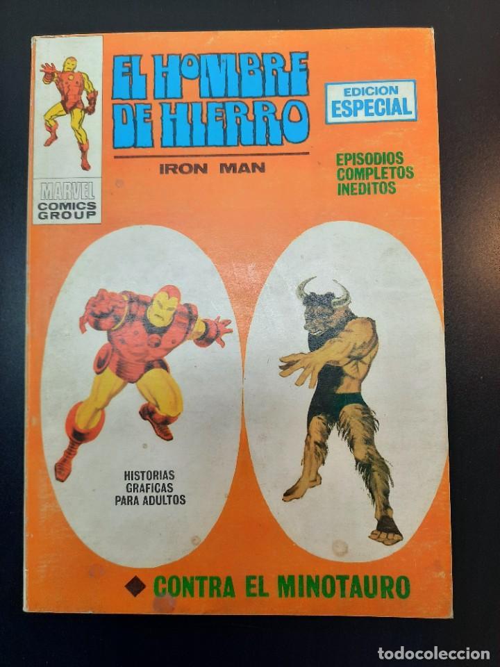 IRON MAN (1969, VERTICE) -EL HOMBRE DE HIERRO- 10 · IV-1970 · CONTRA EL MINOTAURO (Tebeos y Comics - Vértice - Hombre de Hierro)