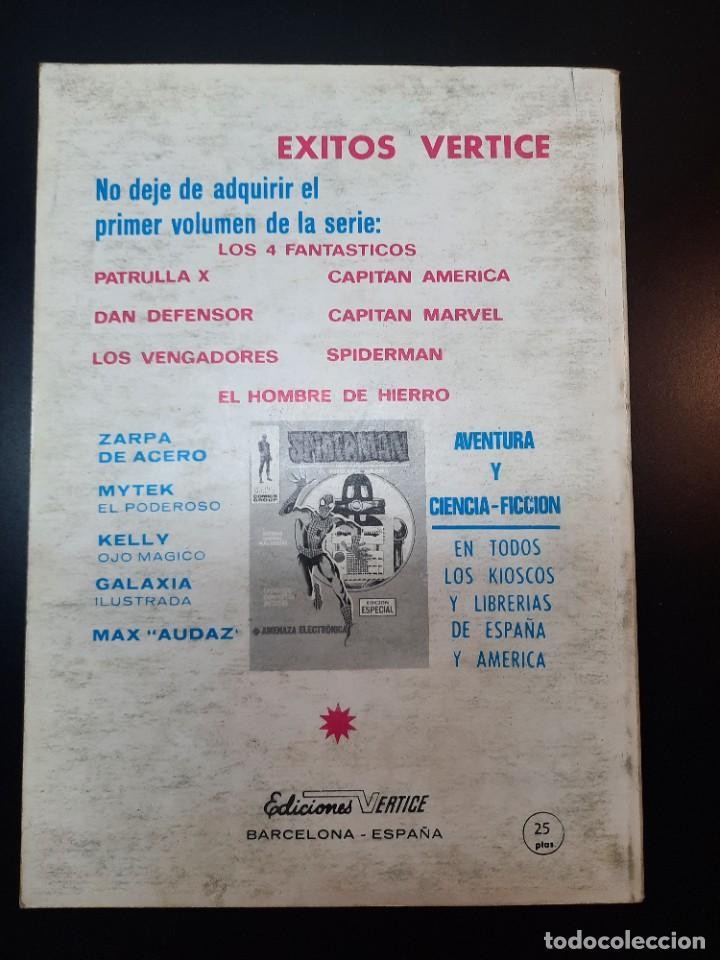 Cómics: IRON MAN (1969, VERTICE) -EL HOMBRE DE HIERRO- 10 · IV-1970 · CONTRA EL MINOTAURO - Foto 2 - 224519487