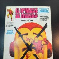 Cómics: IRON MAN (1969,VERTICE) -EL HOMBRE DE HIERRO- 9-1970· ELRELEVO DEL HOMBRE DE HIERRO *EXCELENTE*. Lote 224520298