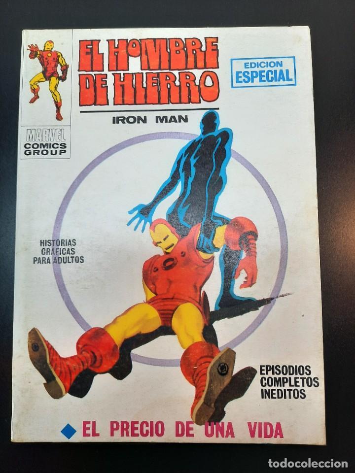 IRON MAN (1969, VERTICE) -EL HOMBRE DE HIERRO- 8 · II-1970 · EL PRECIO DE UNA VIDA***EXCELENTE*** (Tebeos y Comics - Vértice - Hombre de Hierro)