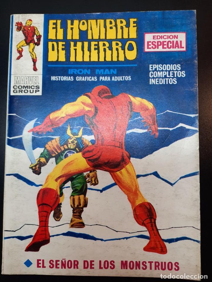 IRON MAN (1969, VERTICE) -EL HOMBRE DE HIERRO- 13 · VII-1970 · EL SEÑOR DE LOS MONSTRUOS (Tebeos y Comics - Vértice - Hombre de Hierro)