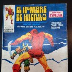 Cómics: IRON MAN (1969, VERTICE) -EL HOMBRE DE HIERRO- 13 · VII-1970 · EL SEÑOR DE LOS MONSTRUOS. Lote 224560546