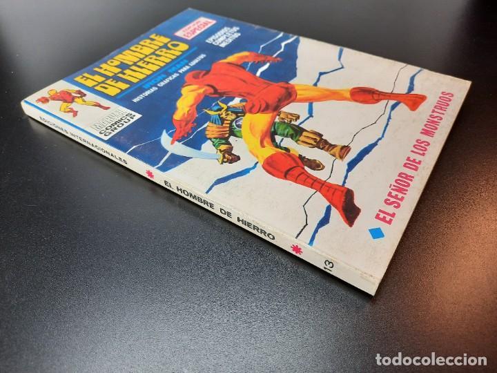 Cómics: IRON MAN (1969, VERTICE) -EL HOMBRE DE HIERRO- 13 · VII-1970 · EL SEÑOR DE LOS MONSTRUOS - Foto 3 - 224560546