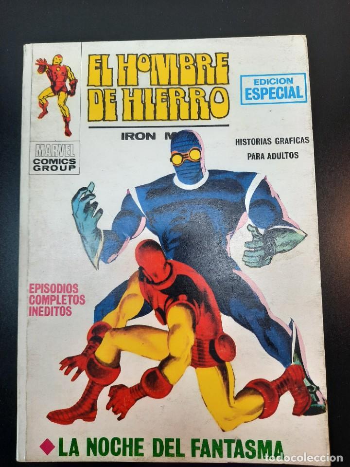 IRON MAN (1969, VERTICE) -EL HOMBRE DE HIERRO- 6 · XII-1969 · LA NOCHE DEL FANTASMA (Tebeos y Comics - Vértice - Hombre de Hierro)