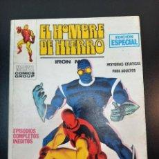 Cómics: IRON MAN (1969, VERTICE) -EL HOMBRE DE HIERRO- 6 · XII-1969 · LA NOCHE DEL FANTASMA. Lote 224561107